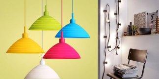 3 x hanglampen voor de kinderkamer