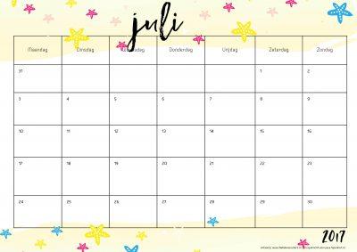 printable-jaarkalender-2017-juli