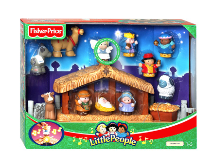 kerststal-little-people