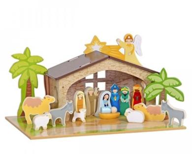 kerststal-voor-kinderen