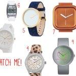 10 x inspiratie voor uitgesproken horloges