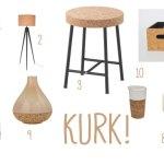 Woontrend 2017: Revival van kurk