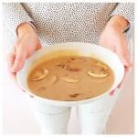 Heerlijk herfstige kastanje soep