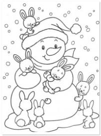 Kleurplaten Winter Slee.De Leukste Kleurplaten Voor De Winter Hip Hot Blogazine