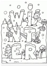 Kleurplaten Herfst Winter.De Leukste Kleurplaten Voor De Winter Hip Hot Blogazine