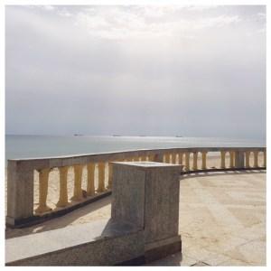 Op vakantie naar Tunesië sousse uitzicht op zee