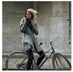 regenjas voor op de fiets