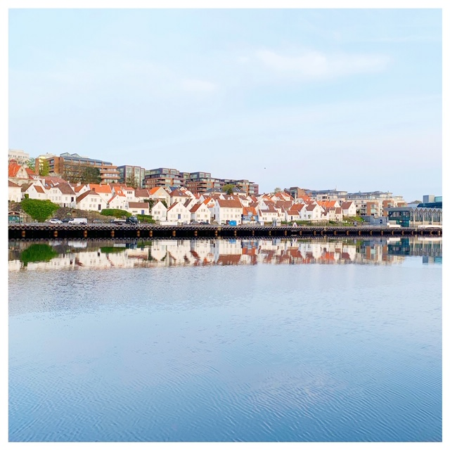Stavanger vanaf de haven