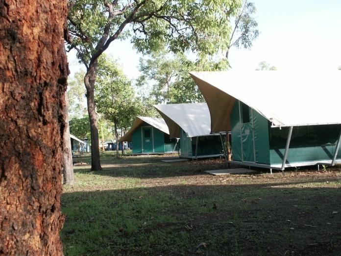 tenten camping kakadu
