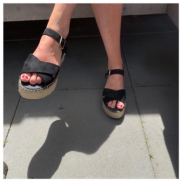 zomerse schoenen die heerlijk zitten
