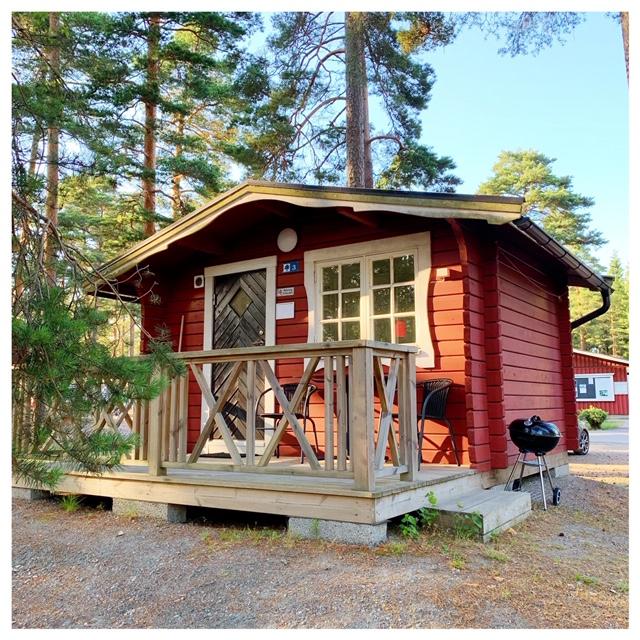 stuga zweden camping