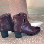 Double V schoenen, hip en van fijn zacht leer