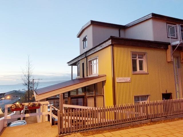 Finna hotel Holmavik