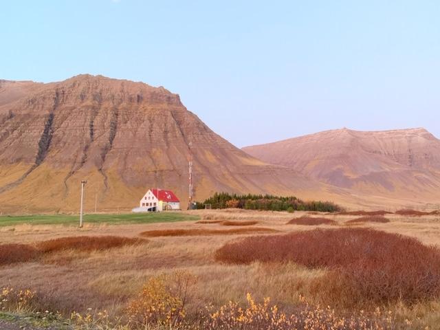 Hotel holt in IJsland westfjorden