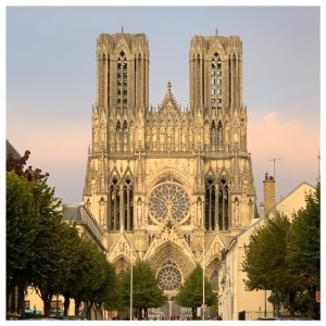 kathedraal reims champagnestreek