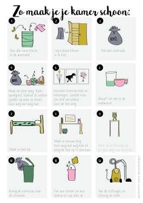 Zo leer je je kind een kamer opruimen