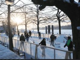 schaatsbaan antwerpen langs de schelde