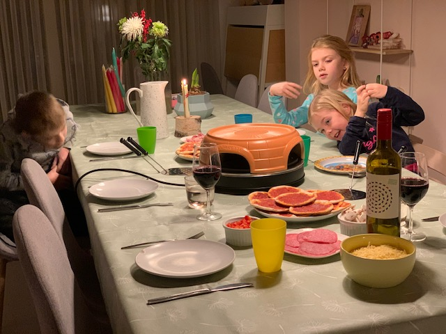 pizzarette recepten aan tafel
