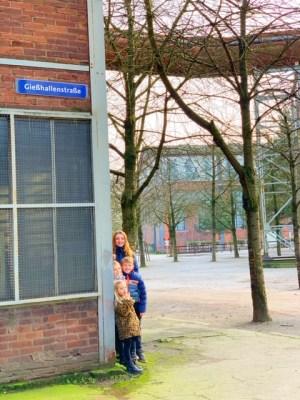 Het Ruhrgebied met kinderen