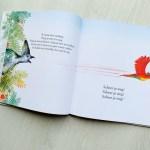 Vogel Vliegop, een prentenboek over een bozige vogel