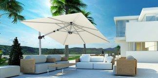 Een duurzame parasol is onmisbaar in de zomer