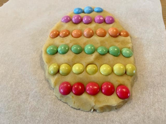voorbeeld paasei koekje