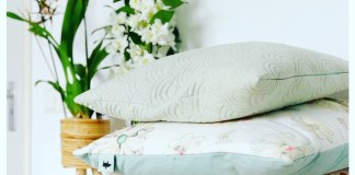 orchidee slaapkamer kussens