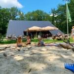 Sparjebird, een heerlijke plek voor kinderen om te spelen en lunchen