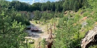 Velka dohoda een klimpark in tsjech