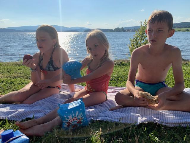 kids bij lipnomeer picknick