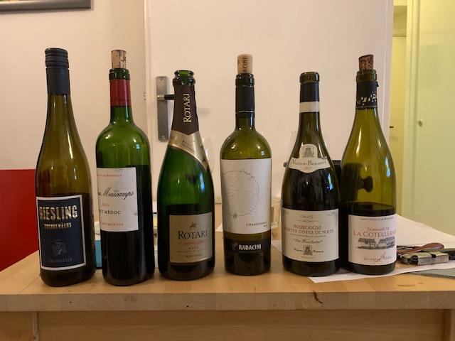 wijnen proeven wijnklas