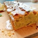 Fluweelzachte citroencake met courgette en avocado