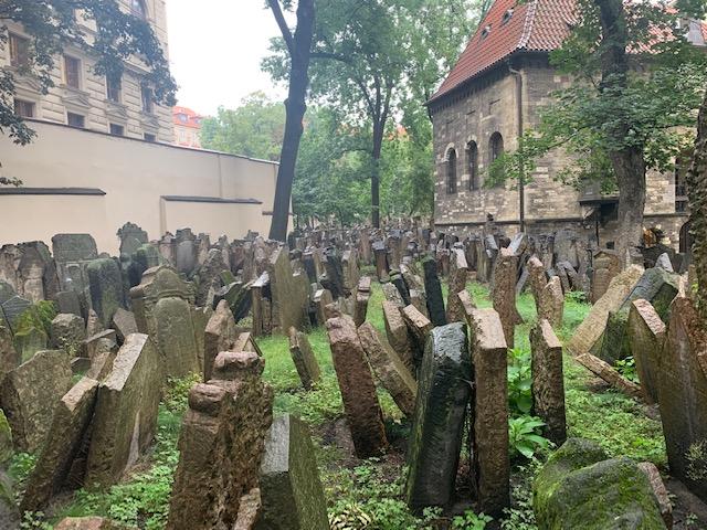Old Jewish cemetery Praag