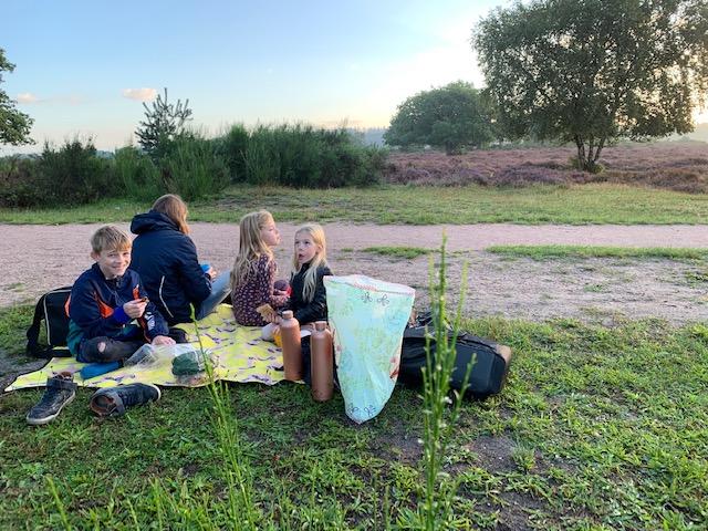 picknick heide kinderen