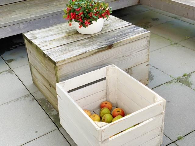 appels en peren in kist
