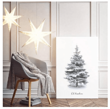kerstboom poster Design Cloud