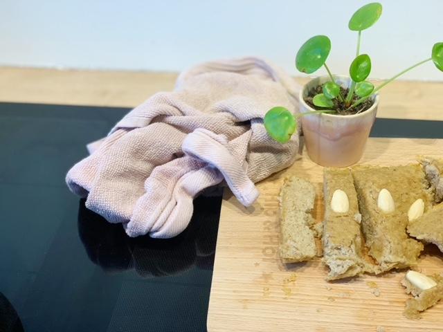 koolhydraatarm bananenbrood klaar