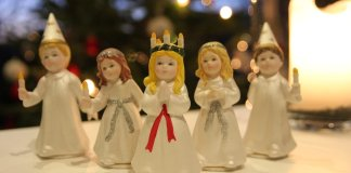 Sint-Lucia met kinderen vieren
