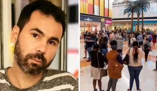 "Humor writer Guilherme Duarte thinks about the queues in shopping malls: ""Stupid people …"""