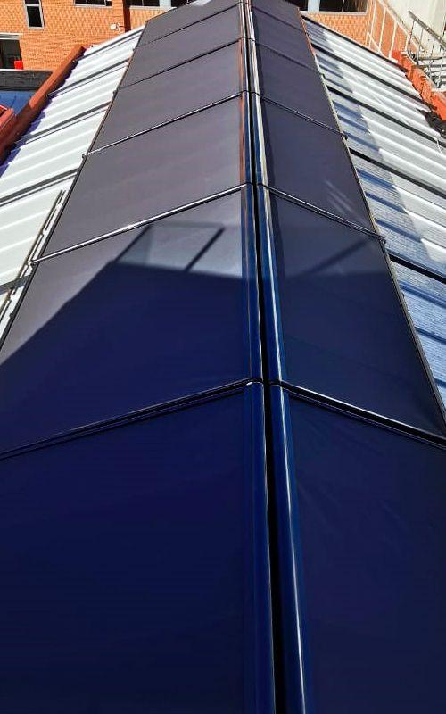 verandas techo de cristal