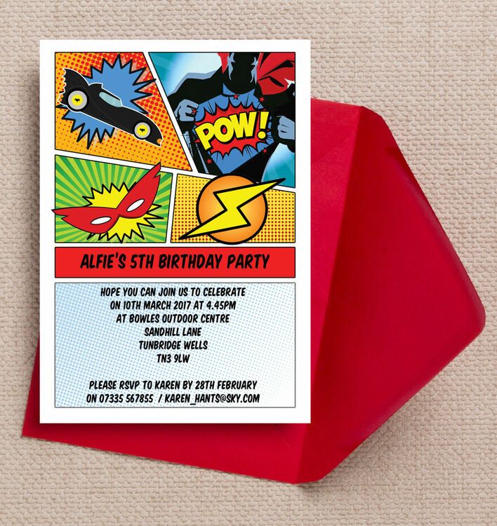 party invitations online uk