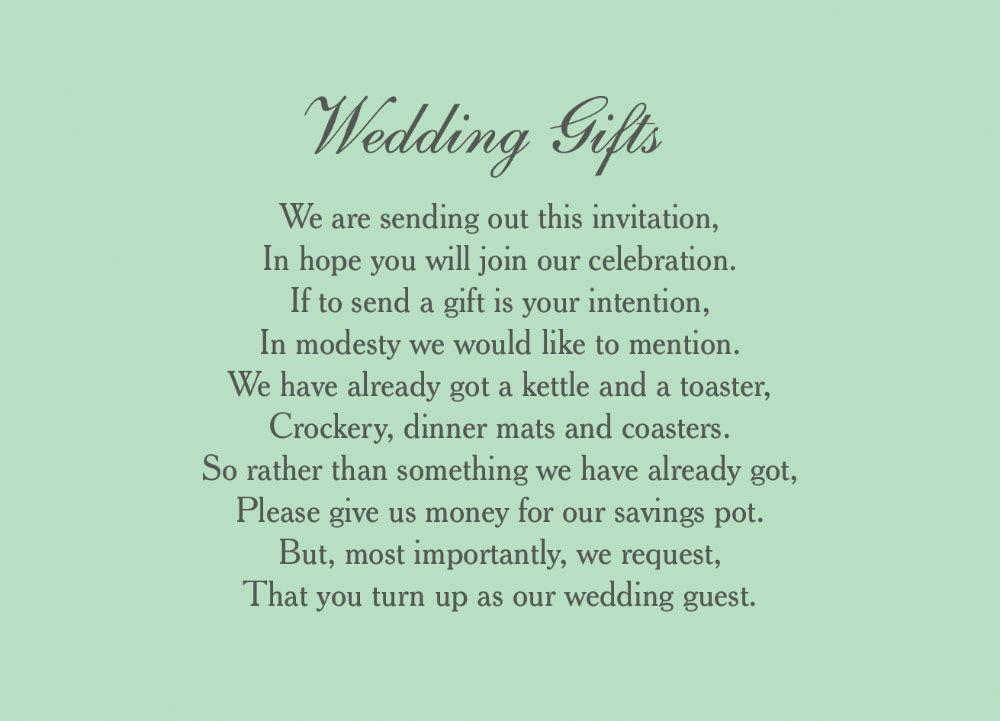 Monetary Wedding Gifts: Wedding Gift Money
