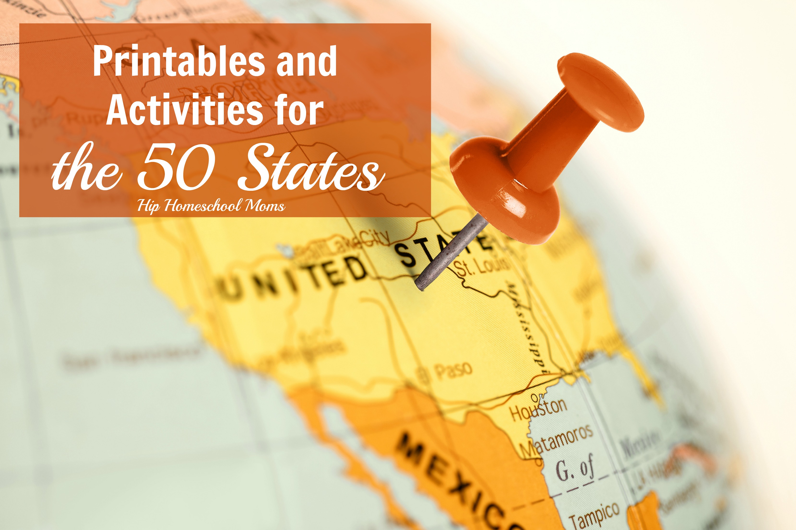 The 50 States Printables And Activities