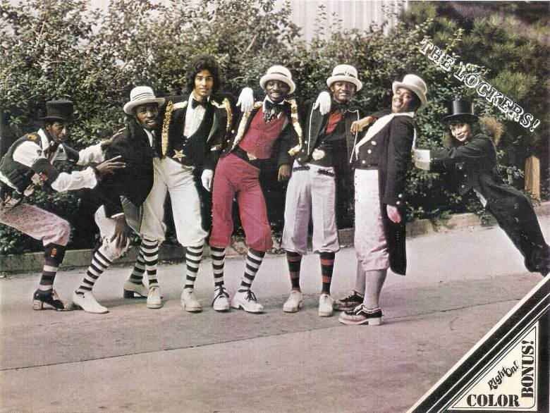 """History of Locking - The Lockers, Campbell's own dance group that he formed with the legendary Toni Basil, Greg """"Campbell Junior"""" Pope and others"""