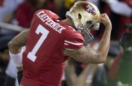 He flexed on the Packers; now Colin Kaepernick and the 49ers are looking to muscle their way into the Super Bowl.