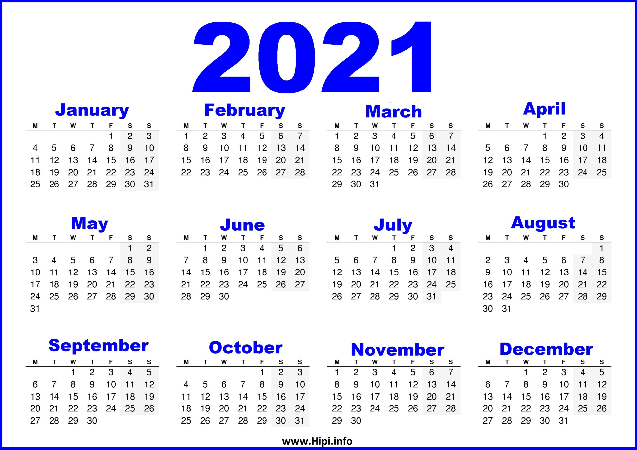 Whether you prefer the convenience of an electric can opener or you're perfectly fine with the simplicity of manual models, a can opener is an indispensable kitchen tool you can't live without unless you plan to never eat canned foods. Free Printable Calendar 2021 UK - Blue - Hipi.info ...
