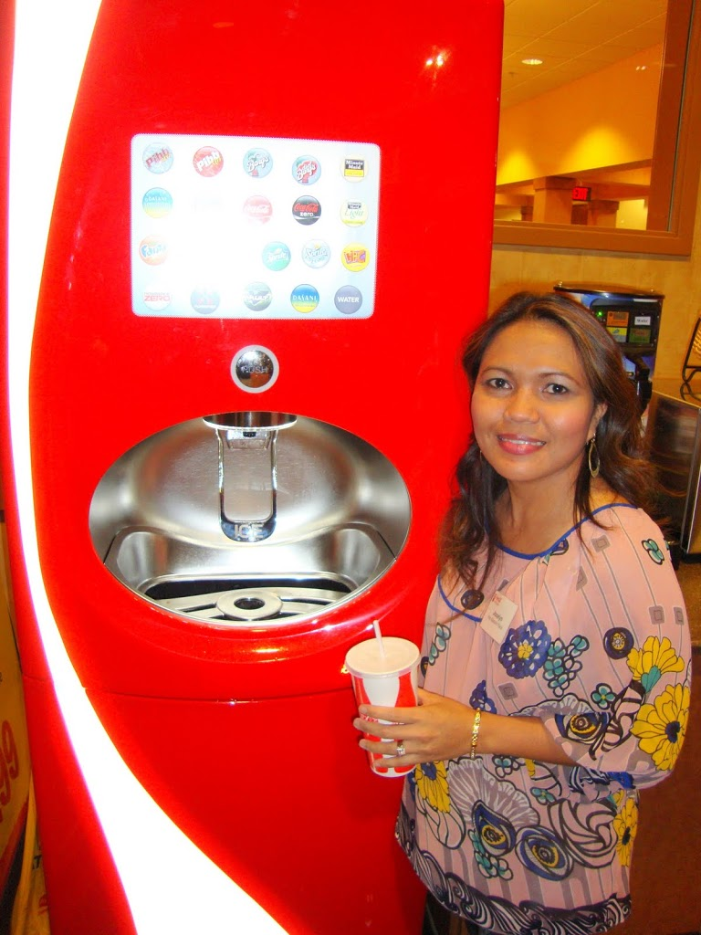 Checking Out the New CocaCola Freestyle At Wegmans