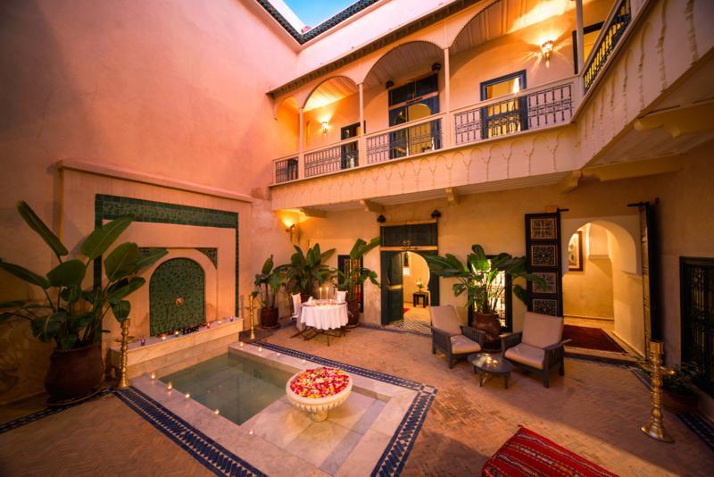 Dar Habiba  Luxury Riad in Marrakech Morocco Book Dar