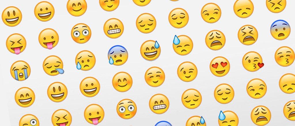 Le emoji più usate, secondo Apple