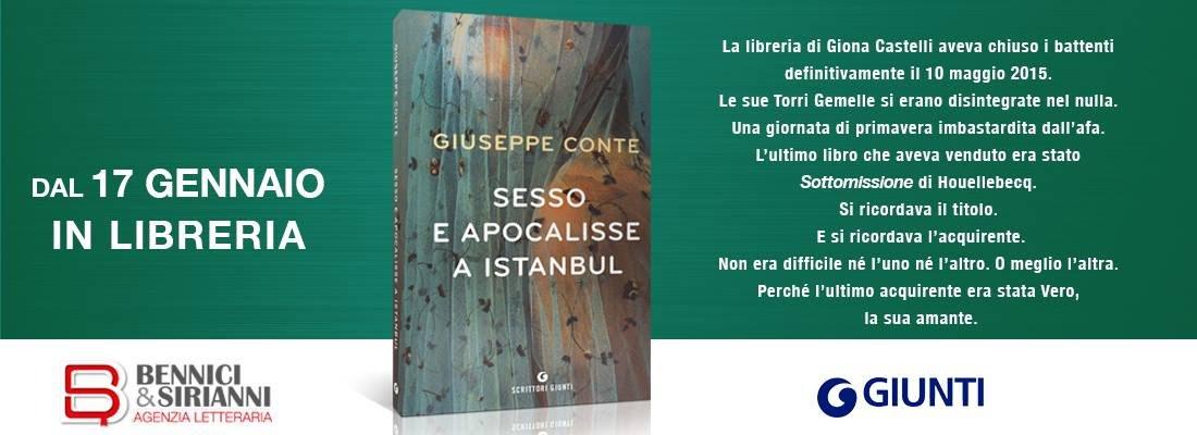 """Giuseppe Conte: """"Sesso e apocalisse a Istanbul"""""""